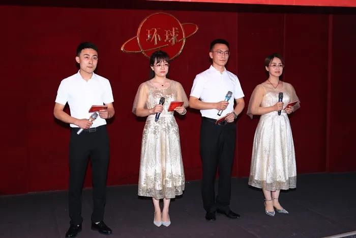 煙臺環球舉辦慶祝中國共產黨成立100周年朗誦比賽